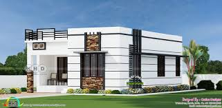 Best Home Design In 900 Sq Feet 2 Bhk 900 Sq Ft Flat Roof Home Flat Roof 900 Sq Ft House