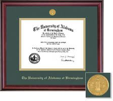 diploma frames the uab bookstore bookstore framing success classic double matted diploma frame in a burnished cherry finish