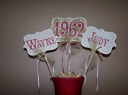 table centerpiece ideas for 50th wedding anniversary table