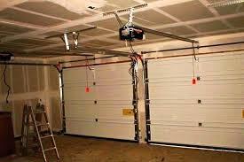 installing craftsman garage door