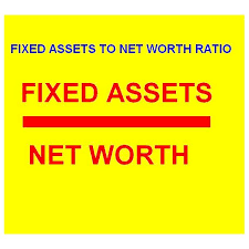 Asset Net Worth Understanding Fixed Assets To Net Worth Ratio