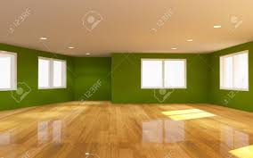 Natural light wood floor Living Interior Green Room With Wooden Floor And Natural Light Stock Photo 29591272 Sicga Interior Green Room With Wooden Floor And Natural Light Stock Photo