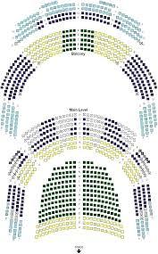 Winspear Opera House Seating Chart Best Living Creative Design