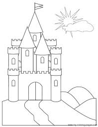 Do you want to print a beautiful castle to color? Free Printable Coloring Pages Of Castles