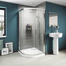 Wonderful Curved Shower Enclosures Uk Luxury Sliding Quadrant Enclosure Intended Design Inspiration