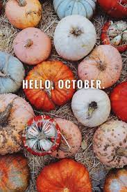 Hello October with Pumpkin Wallpapers ...