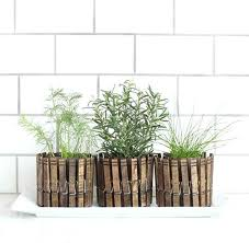 indoor herb garden pots clothespin herb planters fun and easy indoor herb  garden ideas indoor herb