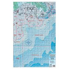 Standard Mapping West Delta Block And Rig Chart La16