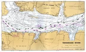 36 Punctilious Tenn Tom Waterway Navigation Chart
