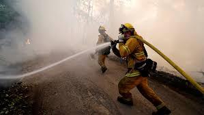 Verizon throttled firefighters' data plan during California wildfire ...