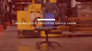 assembly racing style executive office chair sky2438 sky2439 best choice s