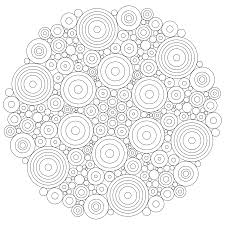 Small Picture Printable Fractal Coloring Pages For Kids And For Adults