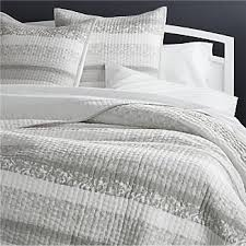 Quilted Bedspreads | Crate and Barrel & Oleana Full/Queen Quilt Adamdwight.com