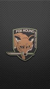 foxhound logo metal gear solid series gear tattoo tatoo gear art video