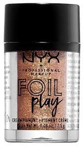 NYX <b>Пигмент для век</b> Foil Play Cream Pigment — купить по ...