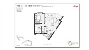 1 5bhk 895 floor plan
