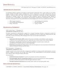 Admin Assistant Resume Awesome 19 Beautiful Administrative Assistant ...