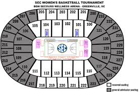 Bi Lo Center Seating Chart Greenville Sc Bon Secours Wellness Arena