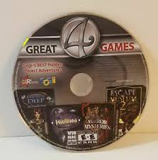 Top hidden object pc games. 4 Great Games Pc Cd Rom 2011 Windows Mac Gogii Hidden Object Game Compilation Ebay
