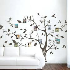 wall decals picture frame wall decor image photo frame family tree wall decals wall stickers family tree decal family tree wall decal with picture frames