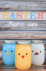 Cute Jar Decorating Ideas 100 DIY Easter Decorations That Bring All The Spring Cheer Style 50