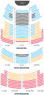 majestic theatre seating chart the