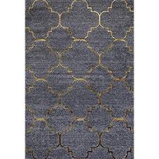 grey and gold rug 4518 gold moroccan trellis 52x72 area rug carpet large new red and