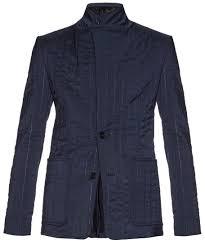 Maison Margiela Slim Fit Slightly Padded Quilted Blazer | Where to ... & ... Maison Margiela Slim Fit Slightly Padded Quilted Blazer Adamdwight.com
