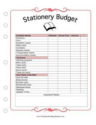 best 25 wedding budget worksheet ideas on pinterest wedding Expenses For Wedding Plan stationery might not seem like the biggest expense when planning a wedding, but the cost expenses for wedding plan