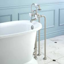 free standing tub faucet how to get free standing bathtub faucets bathtubs information freestanding tub faucet