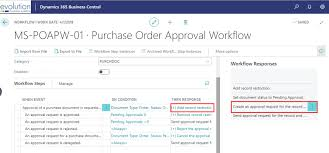 How To Cancel Microsoft Order How Approver Limit Type Works For Purchase Order Workflows