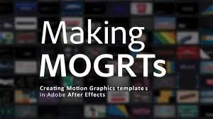 Free Ebook On Motion Graphics Templates 120 Pages