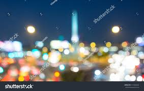 Victory Of The Light Blurred Bokeh Light Victory Monument Stock Photo Edit Now