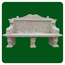 Outdoor Stone Benches With Backs Vintage Cast Stone Garden Benches Stone Benches With Backs