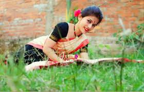 Free stock photo of assam, Bihu dancer