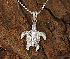 white gold turtle pendant s makani hawaii hawaiian heirloom jewelry wholer and manufacturer