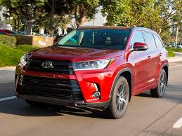 toyota highlander 2018 red. appropriately enough, toyota\u0027s three-row highlander suv is a perennial best-seller and staple of our best family cars toyota 2018 red