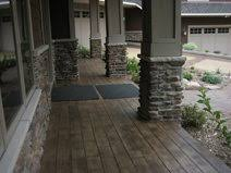 ... Footbridge Looks Like Wood. Walkway Fireplace Surrounds Allstate  Decorative Concrete Cokato, MN