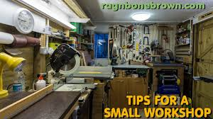 small woodworking workshop. 5 tips for a small wood workshop - making the most of your space youtube woodworking d