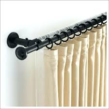 wire curtain rod adhesive wire curtain rod diy