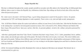 republic day speech happy republic day essay all images  republic day speech