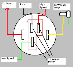 gm cj5 wiper motor help! jeep cj forums wiper motor wiring diagram chevrolet at Chevy S10 Wiper Motor Wiring Diagram