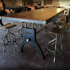 Vintage and industrial furniture Bar Alluring Vintage Industrial Dining Room Table And Best 25 Industrial Dining Ideas On Home Design Loft Alluring Vintage Industrial Dining Room Table And Industrial Dining