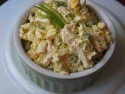 Салат из молодой капусты и копченой курицы