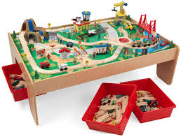 kidkraft train table kidkraft waterfall mountain train