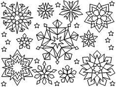Small Picture Snowflake Coloring Pages Snow Flake Kids 13523 Bestofcoloringcom