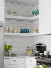 Small white kitchens High Gloss Hgtvcom Smallspace Kitchen Remodel Hgtv