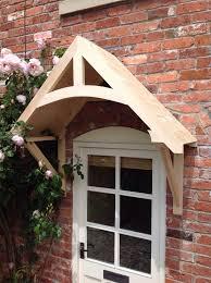 front door canopyTimber Front Door Canopy Porch CROSSMEREHand made Shropshire