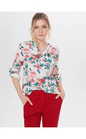<b>Floral print blouse</b>, MOHITO, ZG284-03P