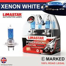 Corsa D Vxr 06 On Xenon White H7 Halogen Dipped Headlight Bulbs 6000k Pair